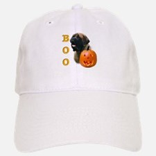 Halloween Apricot Mastiff Boo Baseball Baseball Cap