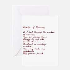 Window of Memory Greeting Card