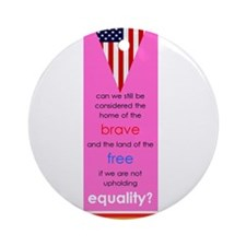 Equality Ornament (Round)