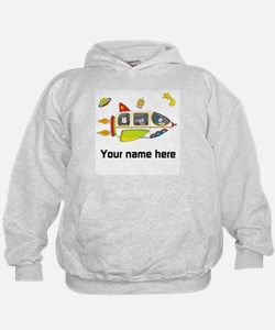 Personalized Space Hoodie