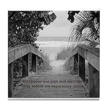 Kahlil Gibran Quote Tile Coaster