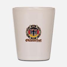 Oktoberfest Beer and Pretzels Shot Glass