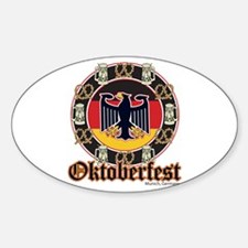 Oktoberfest Beer and Pretzels Decal