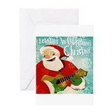 Ukelele Greeting Cards