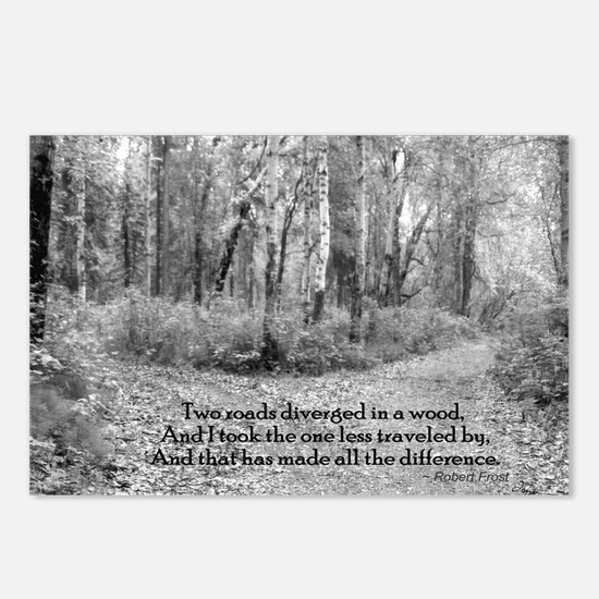 Robert Frost Postcards (Package of 8)