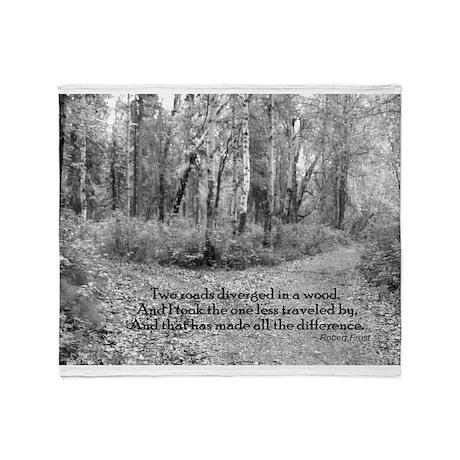 Robert Frost Throw Blanket