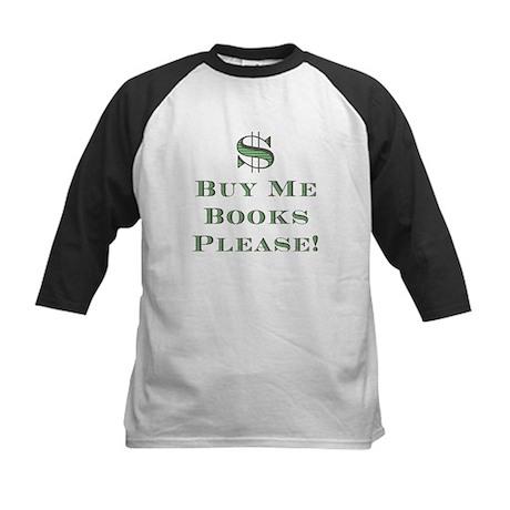 Buy Me Books Please!<br> Kids Jersey - Black