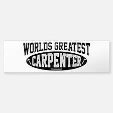 Worlds Greatest Carpenter Sticker (Bumper)