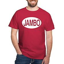 Jambo Maroon T-Shirt