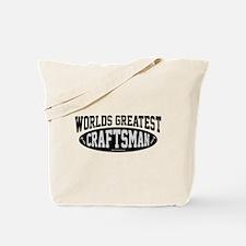 Worlds Greatest Craftsman Tote Bag