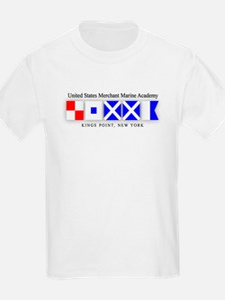 USMMA Signal Flags T-Shirt