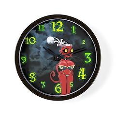 Germaine Demon Wall Clock