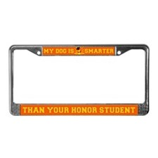 Golden Retriever License Plate Frame