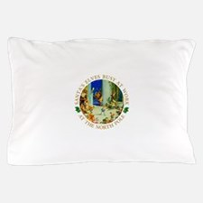 Santa's Elves Busy in His Workshop Pillow Case