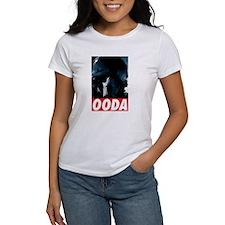 OODA Blue w/Red Tee