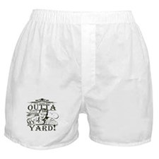 outta-white-distress.png Boxer Shorts