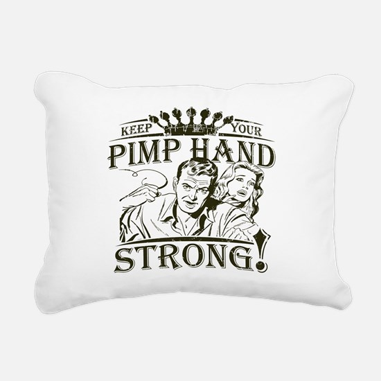 Keep Your Pimp Hand Strong Rectangular Canvas Pill