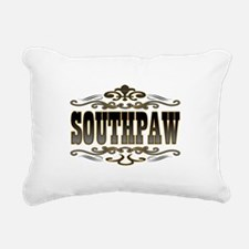 Southpaw Swirl Rectangular Canvas Pillow