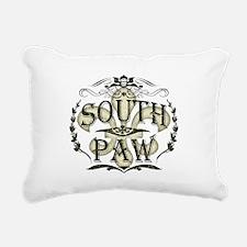 Southpaw Fleur De Lis Rectangular Canvas Pillow