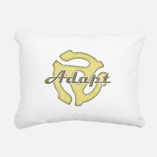 Adapt Rectangular Canvas Pillow