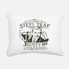 steel-trap-darks.png Rectangular Canvas Pillow