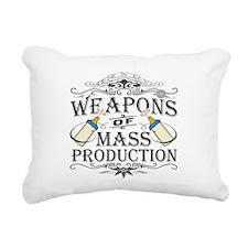 weapons-dark.png Rectangular Canvas Pillow