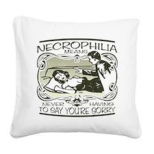 necrophilia-dark-apparel.png Square Canvas Pillow