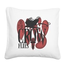 crow-darks.png Square Canvas Pillow