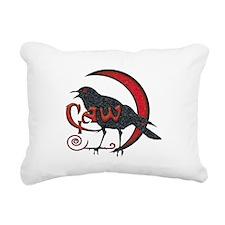 Caw Light Rectangular Canvas Pillow
