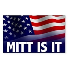 Mitt Is It - 2012 Election Decal