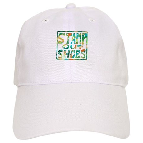 Stamp Out Shoes Happy Cap