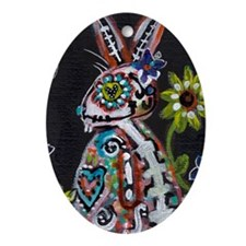 bunny Ornament (Oval)
