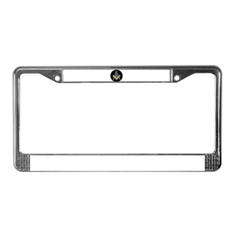 Simply Masonic License Plate Frame