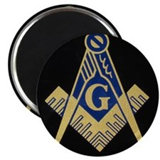 "Simply Masonic 2.25"" Magnet (10 pack)"