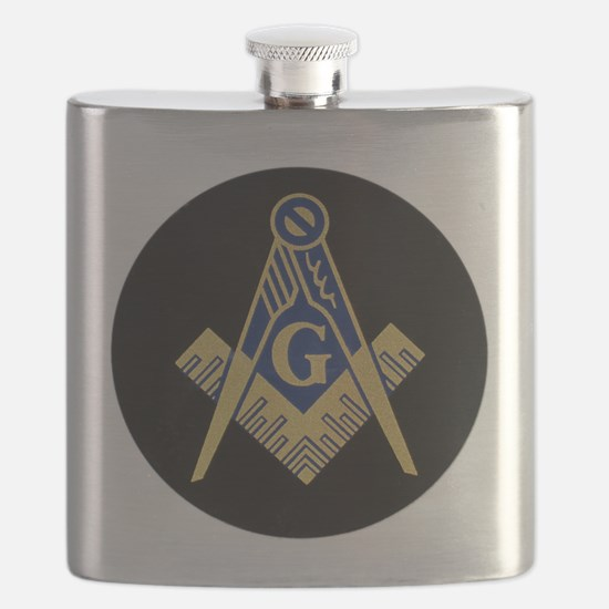 Simply Masonic Flask