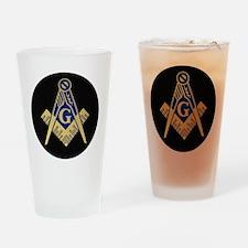 Simply Masonic Drinking Glass