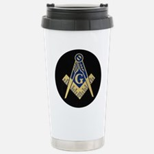 Simply Masonic Stainless Steel Travel Mug