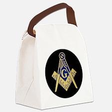 Simply Masonic Canvas Lunch Bag