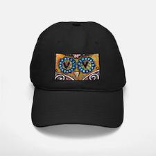 orange owl Baseball Hat