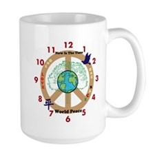 Now Is The Time; World Peace Mug