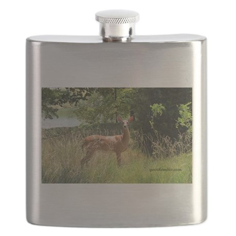 Beautiful doe Flask