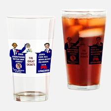 GREAT DEBATE Drinking Glass