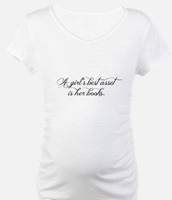 A girl's best asset is her books! Shirt