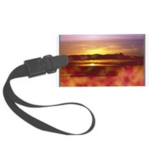 California Sunset Luggage Tag