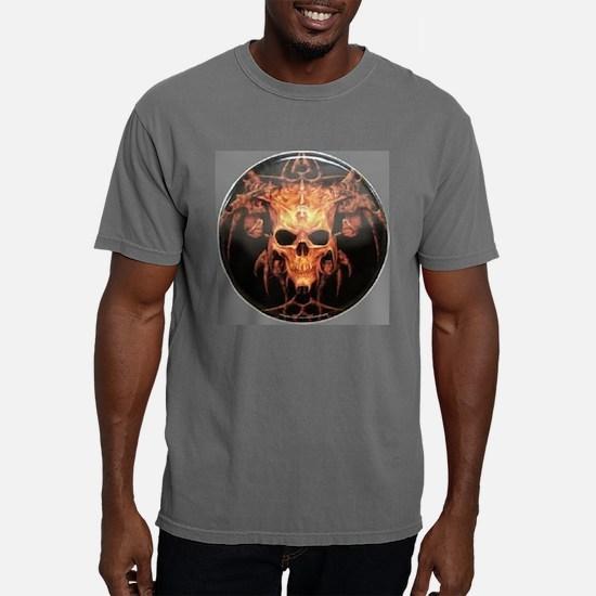 skull demon Mens Comfort Colors Shirt