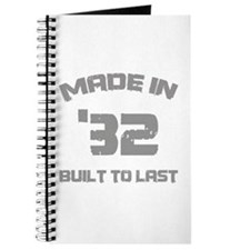 1932 Built To Last Journal