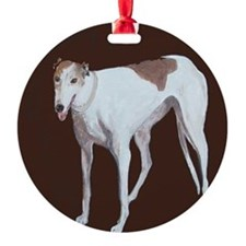 """Greyhound"" Ornament"