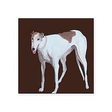 """Greyhound"" Square Sticker 3"" x 3&q"