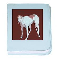 """Greyhound"" baby blanket"
