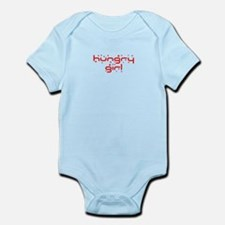 hungry girl funny Infant Bodysuit